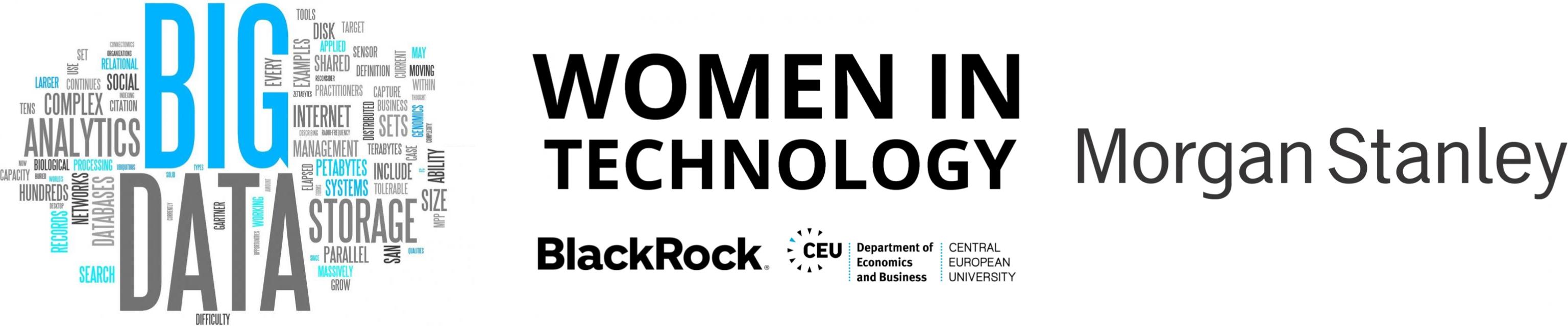 CEU Scholarships Future of Big Data Women in Technology BlackRock Morgan Stanley MS in Business Analytics MS in Finance
