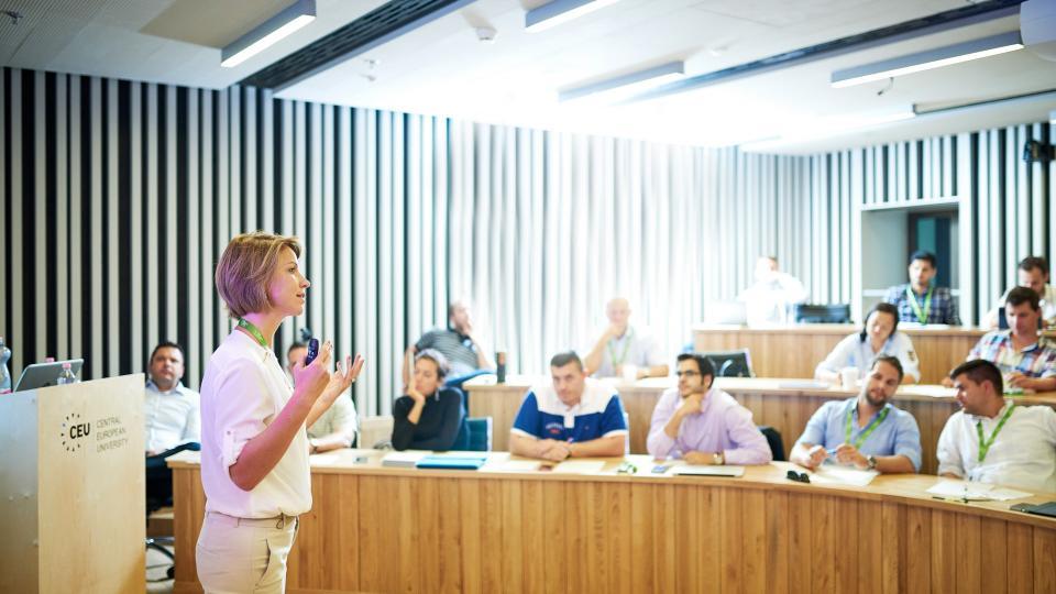 CEU MS in Finance courses teaching