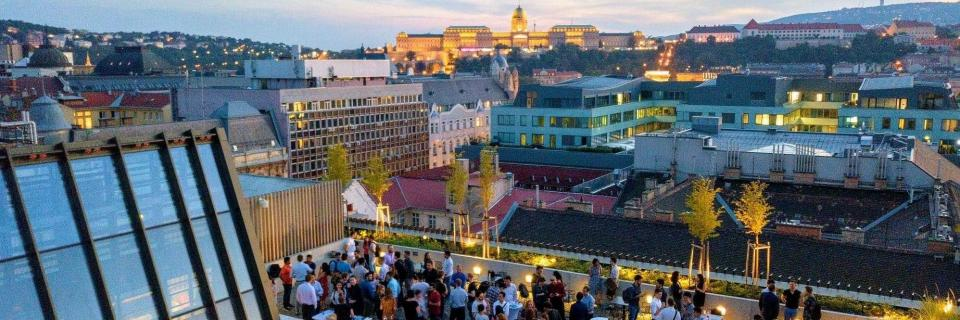 CEU Budapest campus business masters