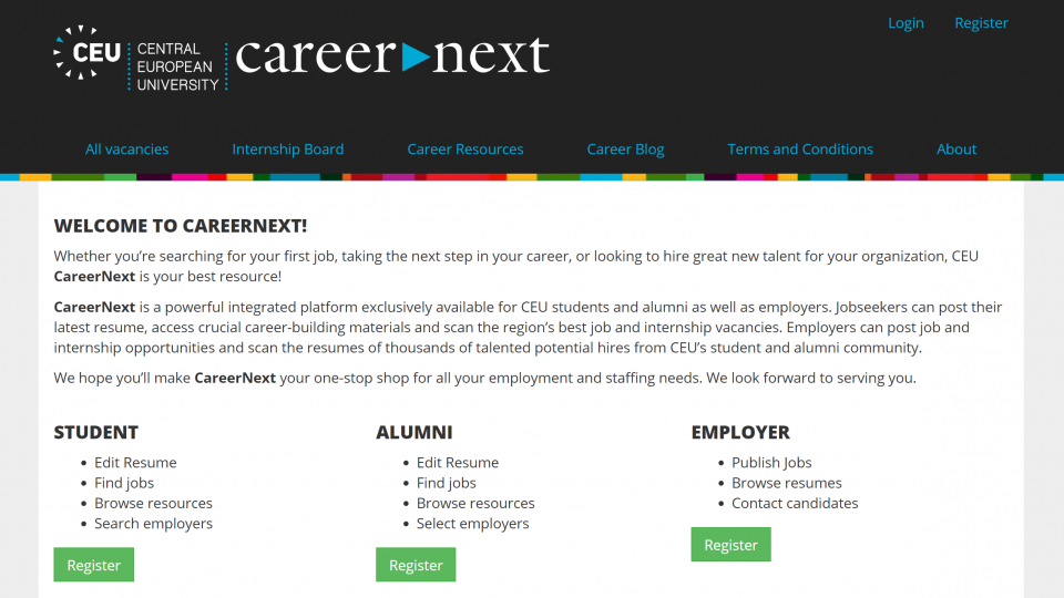 CEU CareerNext