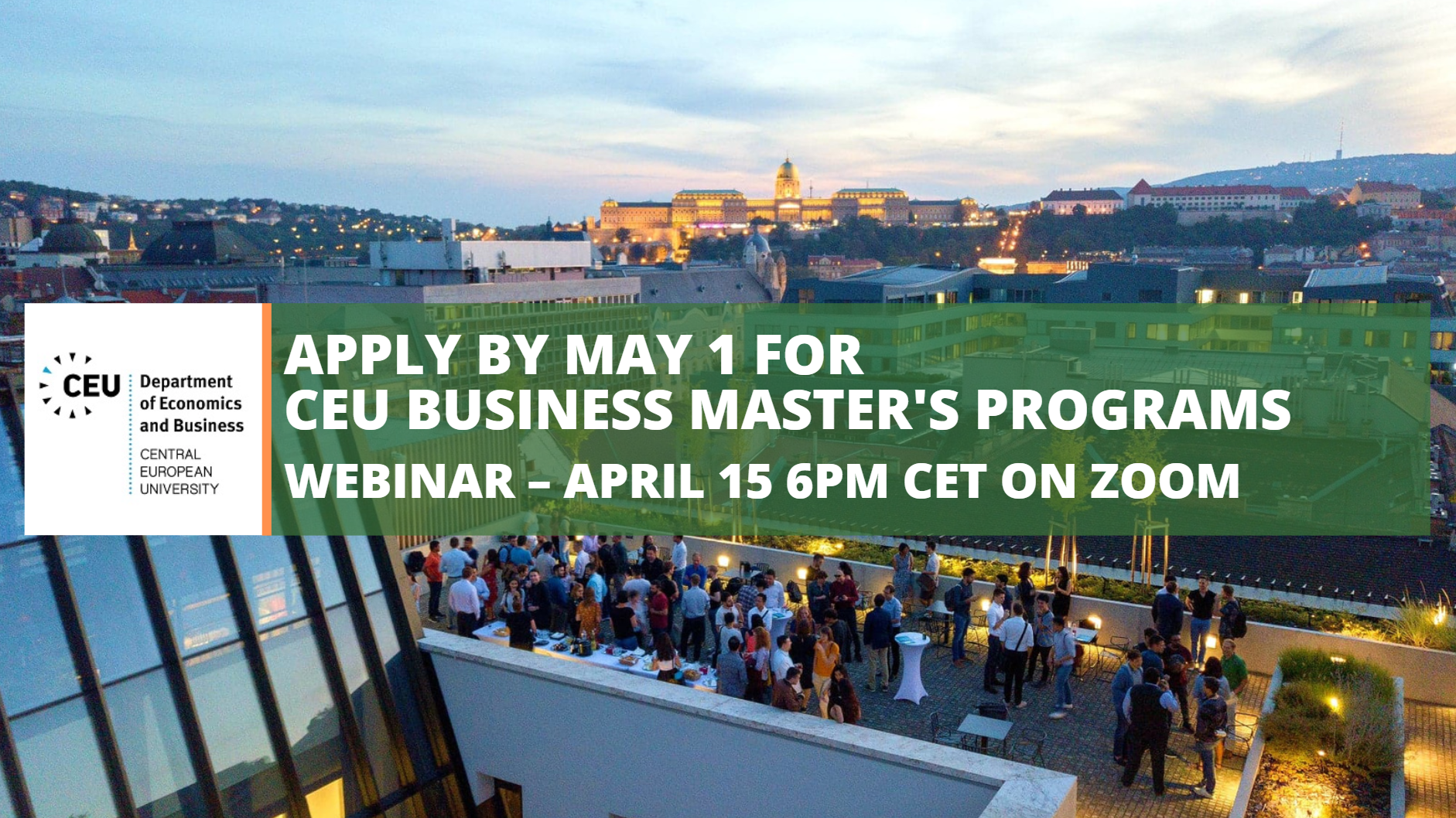EU Business Masters Apply May 1 Webinar April 15 MS in Business Analytics MS in Finance Scholarships Internships Future of Big Data London Boutique Investment Firm Women in Technology BlackRock Morgan Stanley