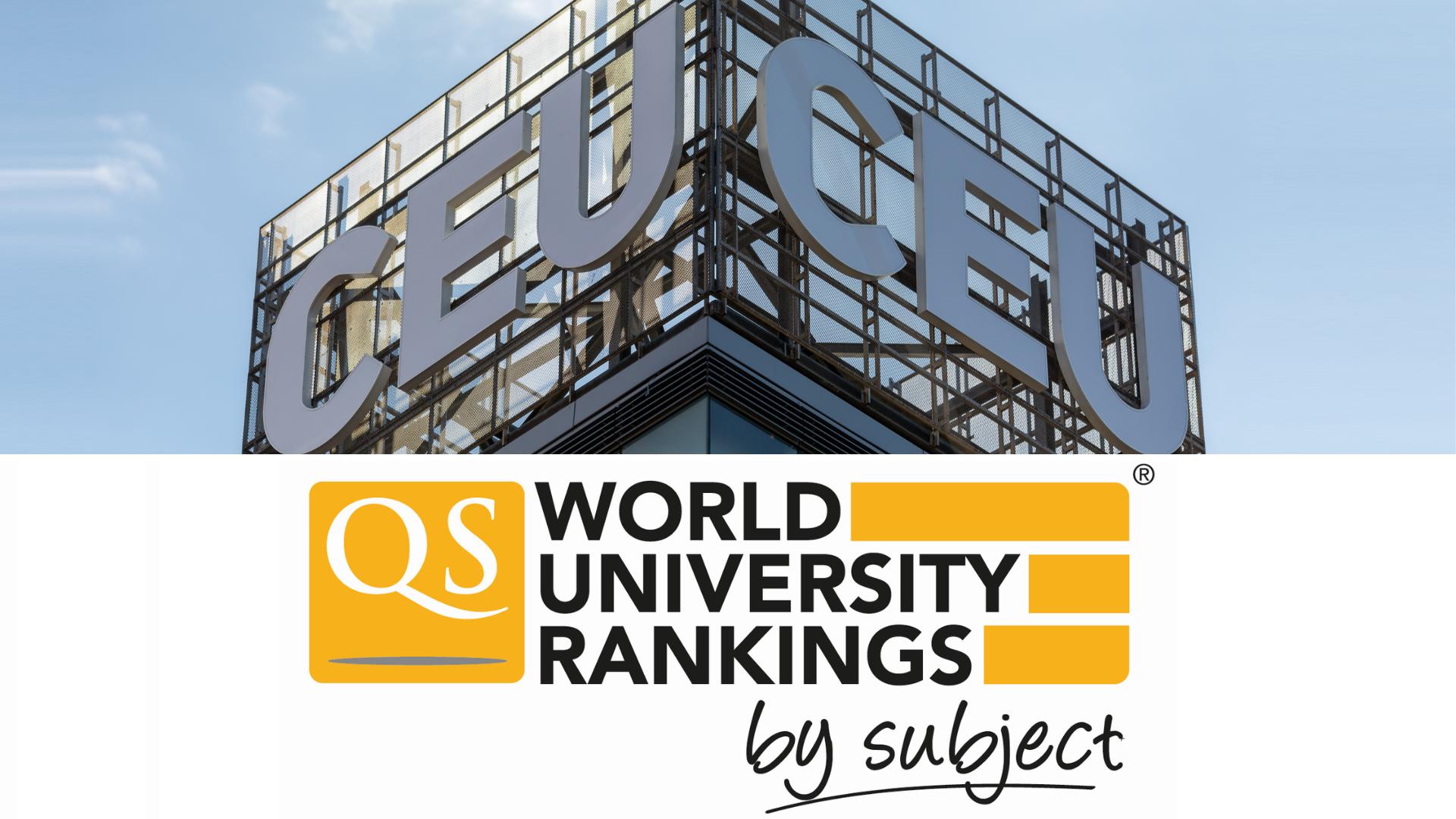 CEU Economics Business QS Subject Rankings