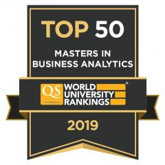 CEU Master in Business Analytics QS Top 100 Ranking